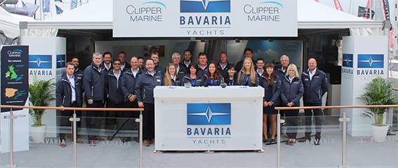 Clipper Marine at Southampton Boat Show
